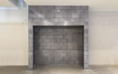 Architectural Wall Wrap Custom Print Brick Pattern