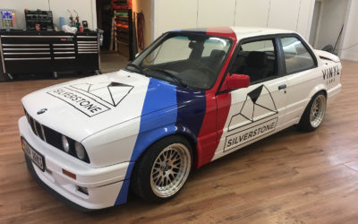 BMW 3 Series – Custom Layered Full Wrap