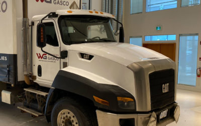 Caterpillar CT660 Truck – Colour Change Full Wrap with Decal Overlays