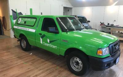 Ford Ranger (with Canopy) – Custom Print Full Wrap