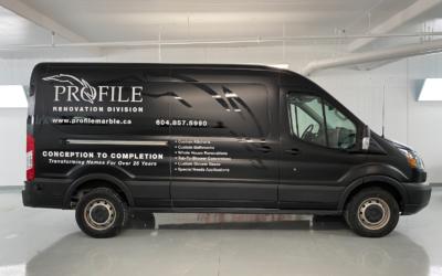 Mercedes Sprinter Van Satin Black – Colour Change Full Wrap with Decal Overlays
