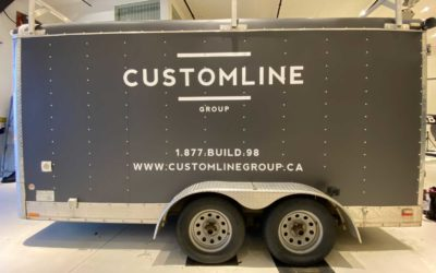 Utility Trailer – Full Wrap with Decal Overlays