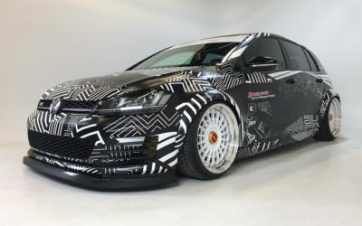 Volkswagen GTI Custom Print Full Wrap