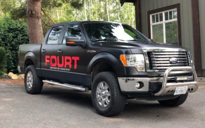 Ford F-150 – Colour Change Full Wrap with Decal Overlays