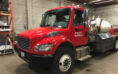 Freightliner M2 Cab – Colour Change Full Wrap with Decal Overlays