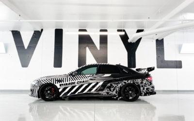 Audi A4 Custom Print Full Wrap