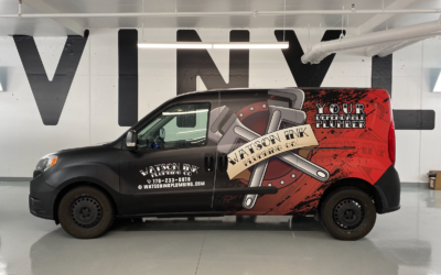 Dodge Promaster City – Custom Print Full Wrap with Matte Laminate