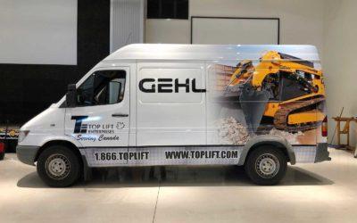 Dodge Sprinter Van – Custom Print Full Wrap