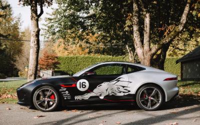 Jaguar F-Type – Custom Layered Full Wrap