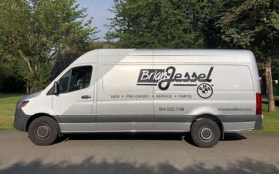 Mercedes Sprinter Van – Colour Change Partial Wrap with Decal Overlays