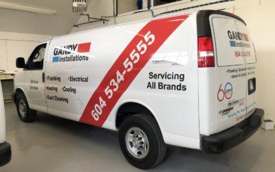 Chevrolet Express Van – Reflective Decal Kit